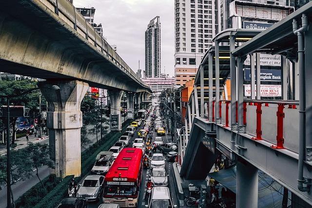 バンコクの渋滞