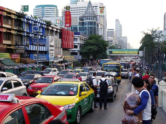 タイの渋滞